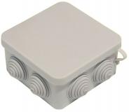 Распаячная коробка накладная наружная 100х100х50 IP54