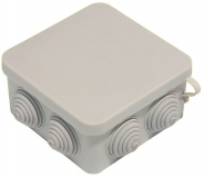 Распаячная коробка накладная наружная 120х80х50 IP54