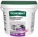 Шпатлевка готовая суперфинишная Основит ЭЛИСИЛК PA39 W 28 кг