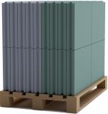 Пазогребневая плита влагостойкая Кнауф (ПГПВ) 667х500х100мм