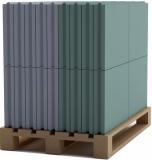 Пазогребневая плита влагостойкая Кнауф (ПГПВ) 667х500х80мм
