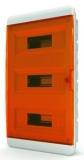 Бокс навесной Tekfor 36 модулей IP40 BNO 40-36-1 (оранжевая прозрачная дверца)