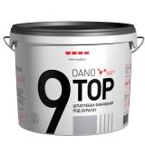 Шпатлёвка готовая финишная под окраску DANO TOP 9 10 л