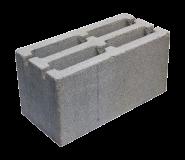 Пескоцементный блок пустотелый стеновой 390х190х188мм